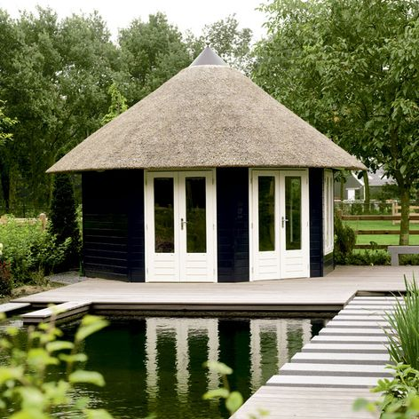 Lugarde Prima Grand Five Octagonal Garden Summerhouse