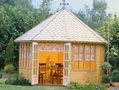 Grand Four garden summerhouses by Lugarde