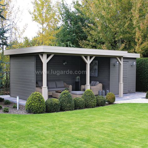 Prima Jake Flat Roof Log Cabins