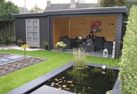Prima Julia Flat Roof Summerhouses From Lugarde