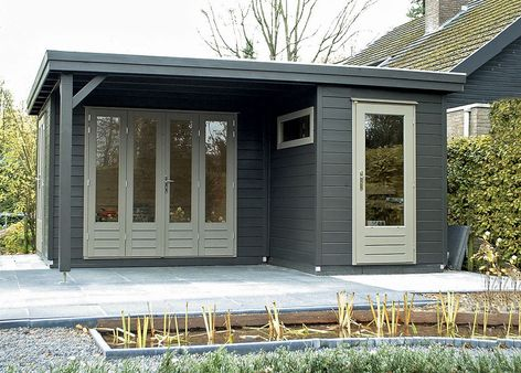 Prima Linda Flat Roof Summerhouses From Lugarde