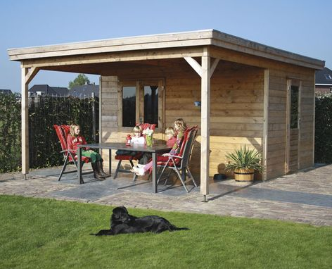 Prima Lucas Flat Roof Log Cabins