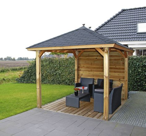 Lugarde Sophia freestanding verandas for the home and garden