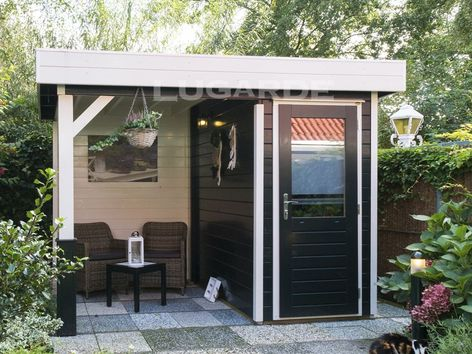 Lugarde Prima Toby flat roof summer houses