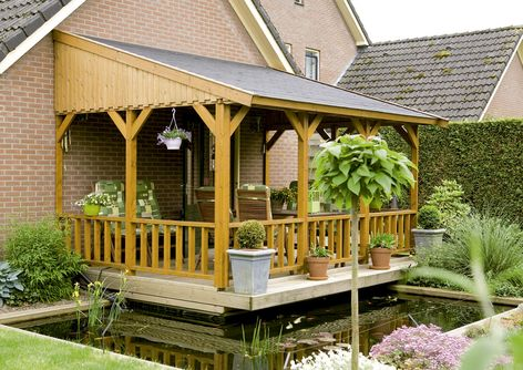 Peachy Lugarde Leaning Verandas For Your House Log Cabin Largest Home Design Picture Inspirations Pitcheantrous